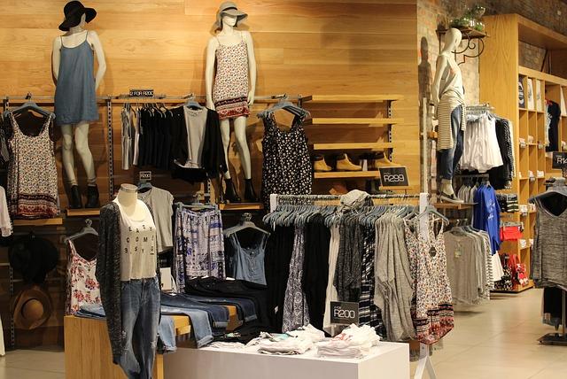 butik s dámským oblečením