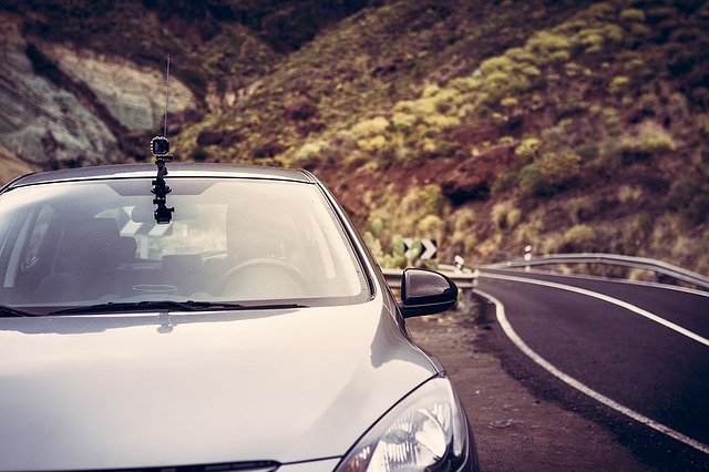 auto s kamerou