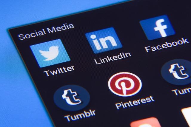 socialní ikonky