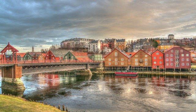 město Norska