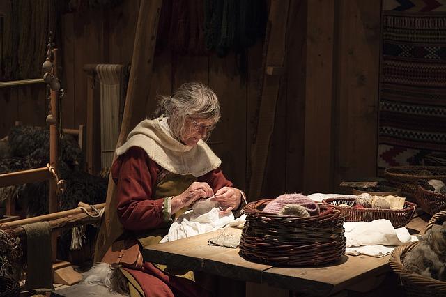 středověký šití