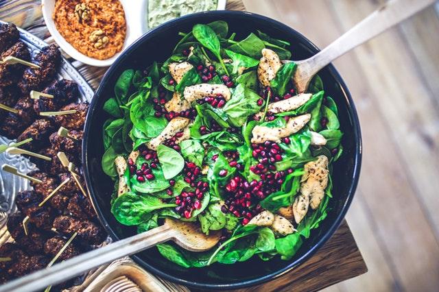 salát, zelenina